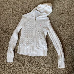 Lilly Pulitzer cable knit goddess sweater- Sz: L